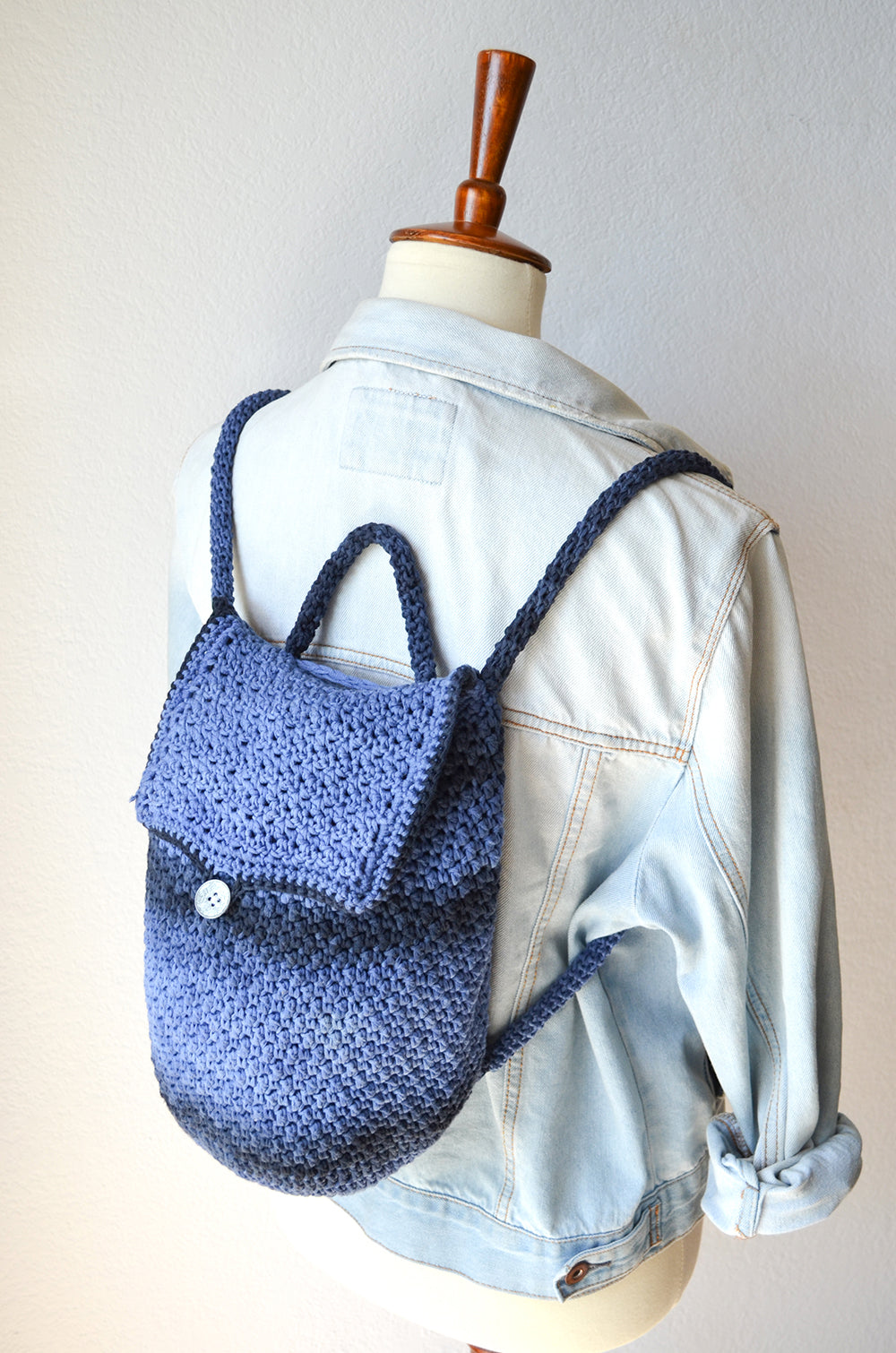 Bijou Backpack Crochet Pattern