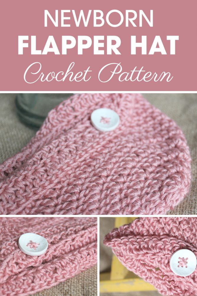 Newborn Flapper Hat Crochet Pattern Maker Goodies