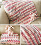 Cross-Over Stitch Baby Blanket Crochet Pattern