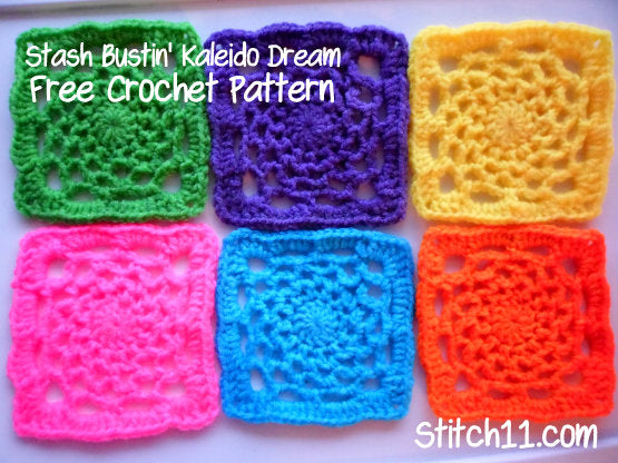 Crochet Dream Catcher Square Pattern