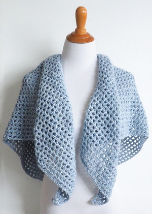 Wine Country Triangle Shawl Crochet Pattern Maker Goodies