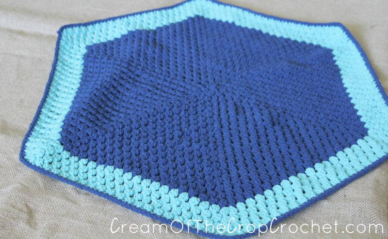 Alex Preemie Blanket Crochet Pattern