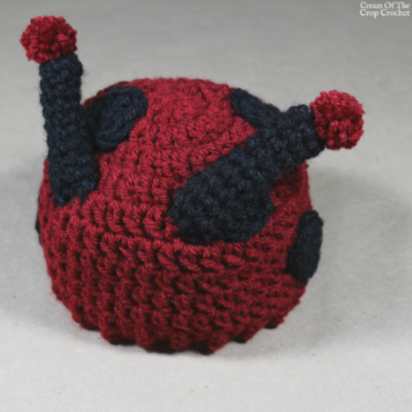 Dot the Ladybug Hat Crochet Pattern