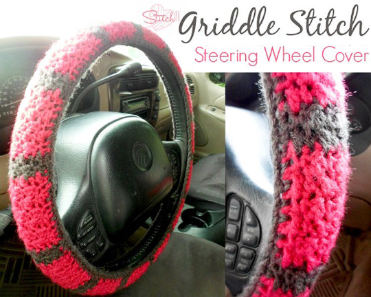 Steering Wheel Cover Crochet Pattern