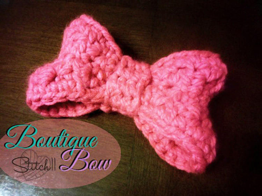 Crochet Bow Pattern