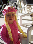 Princess Crown with Braids Crochet Pattern