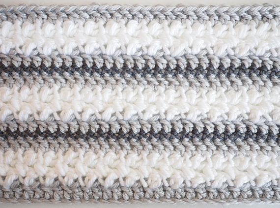 Winter Wonderland Scarf Crochet Pattern