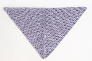 Easy Everyday Triangle Scarf Crochet Pattern