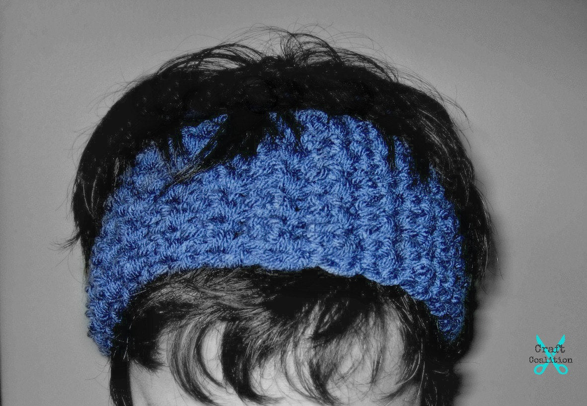 Bienvenue Headband Earwarmers Crochet Pattern