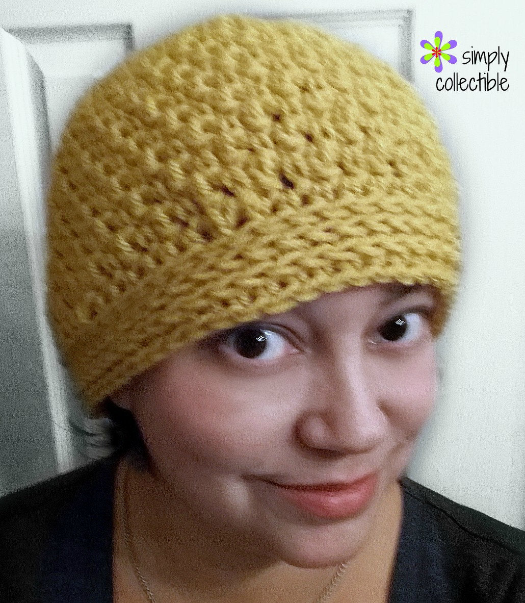 Back n Forth Messy Bun Hat 2-in-1 Crochet Pattern
