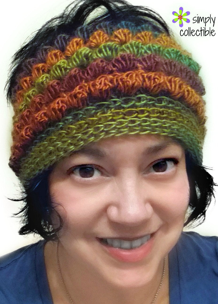 Bibbity Bobbity Short n Sassy 3-in-1 Messy Bun Hat Crochet Pattern