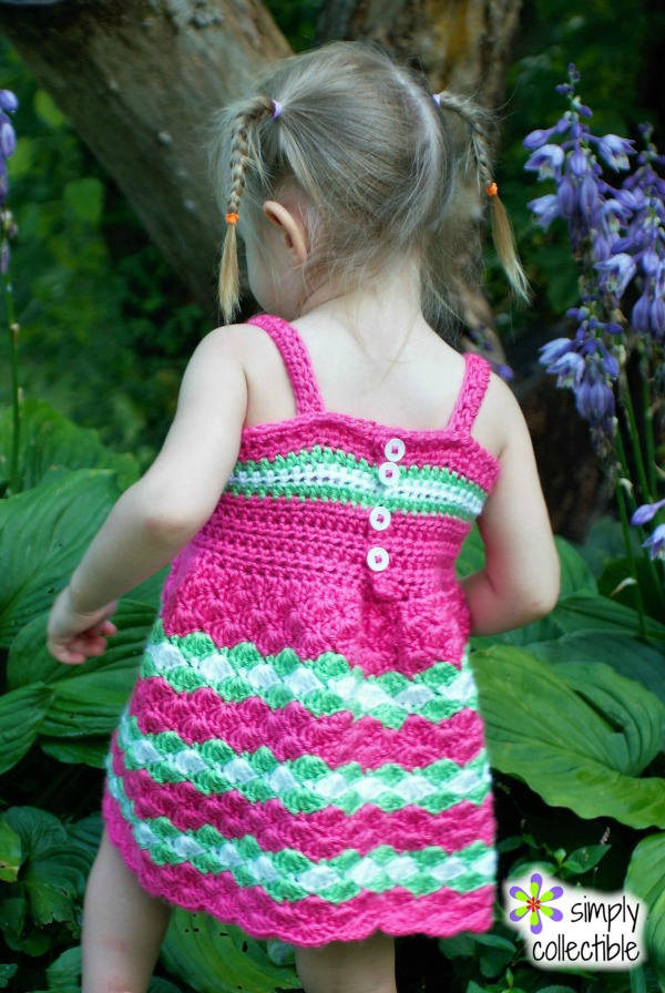 Baby Dress Crochet Pattern