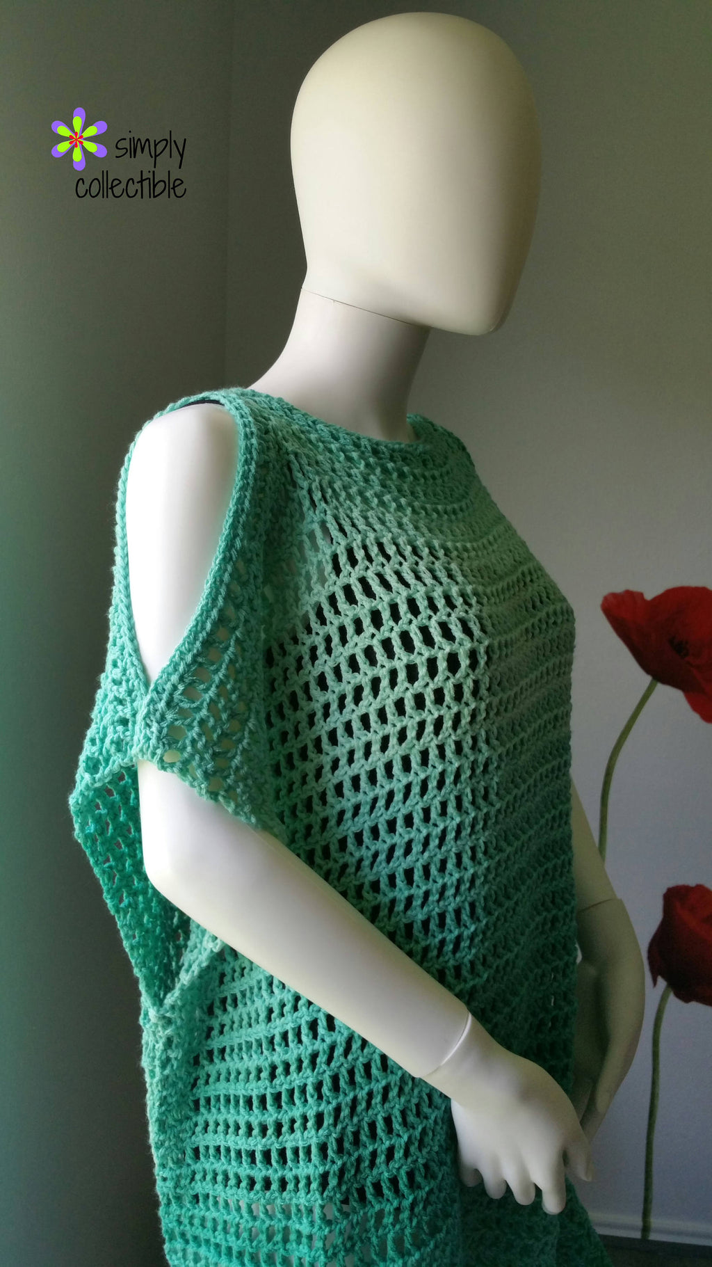 Coraline's Endless Summer Tunic & Beach Cover Up Crochet Pattern