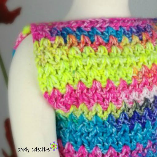 Girls Easy Peasy Top Crochet Pattern