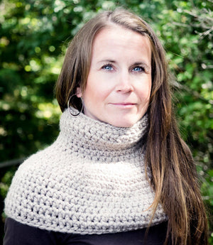 High Neck Capelet Crochet Pattern