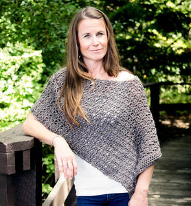 Easy Crochet Poncho Pattern Maker Goodies