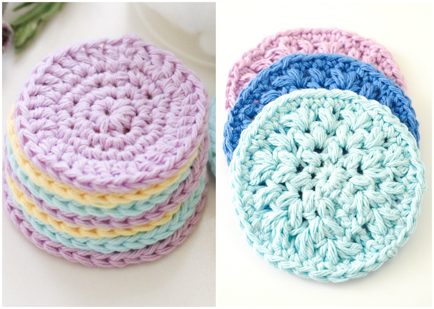 Reusable Face Scrubbie Crochet Pattern – Maker Goodies