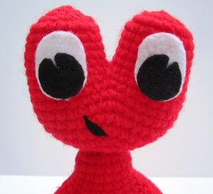 Toy Amigurumi Alien Monster Crochet Pattern
