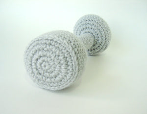 Toy Amigurumi Dumbbells