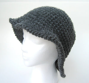 Gorgeous Ribbed Hat Crochet Pattern