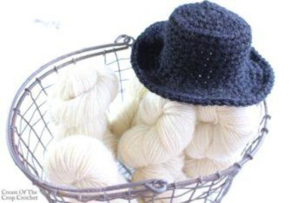 Mini Top Hat Crochet Pattern