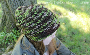 Nature Slouch Crochet Pattern