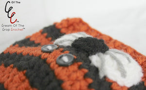 Preemie Newborn Tiger Hat Crochet Pattern
