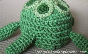 Preemie Newborn Turtle Hat Crochet Pattern