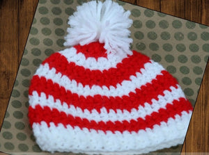 Preemie Newborn Landon Hat Crochet Pattern