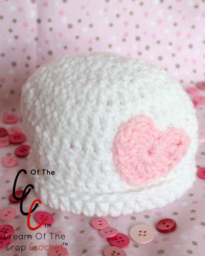 Preemie Newborn Kaylee Hat Crochet Pattern – Maker Goodies