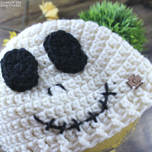 Seth the Skeleton Hat Crochet Pattern