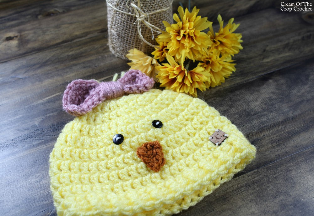 Trinity The Chick Hat Crochet Pattern Maker Goodies