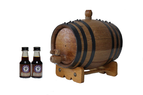 1-Liter American White Oak Barrel Bourbon Kit