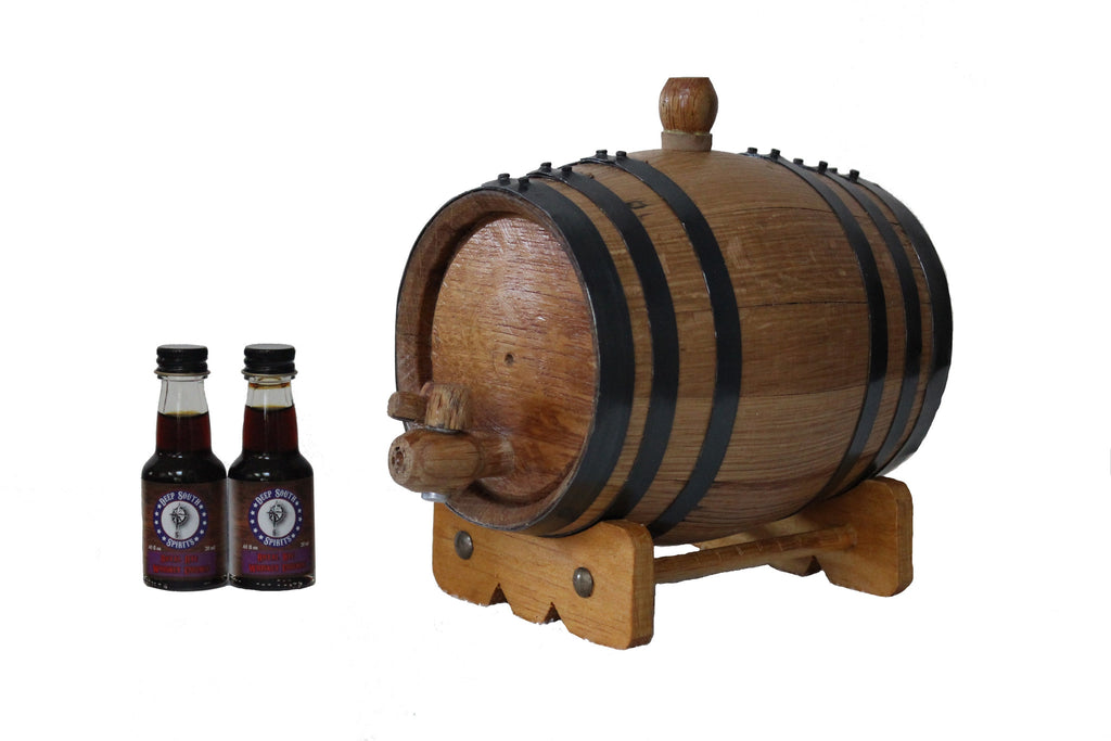 1-Liter American White Oak Barrel Rye Whiskey Kit