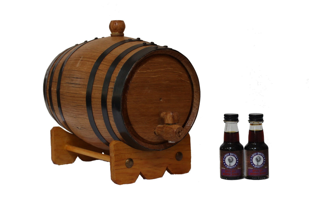 2-Liter American White Oak Barrel Rye Whiskey Kit