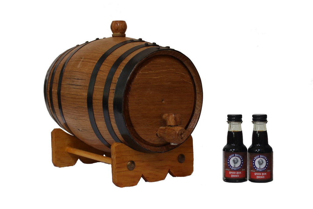 2-Liter American White Oak Barrel Spiced Rum Kit