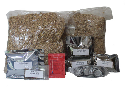 Brew Naturally IPA All Grain Home Brew Beer Ingredient Kit