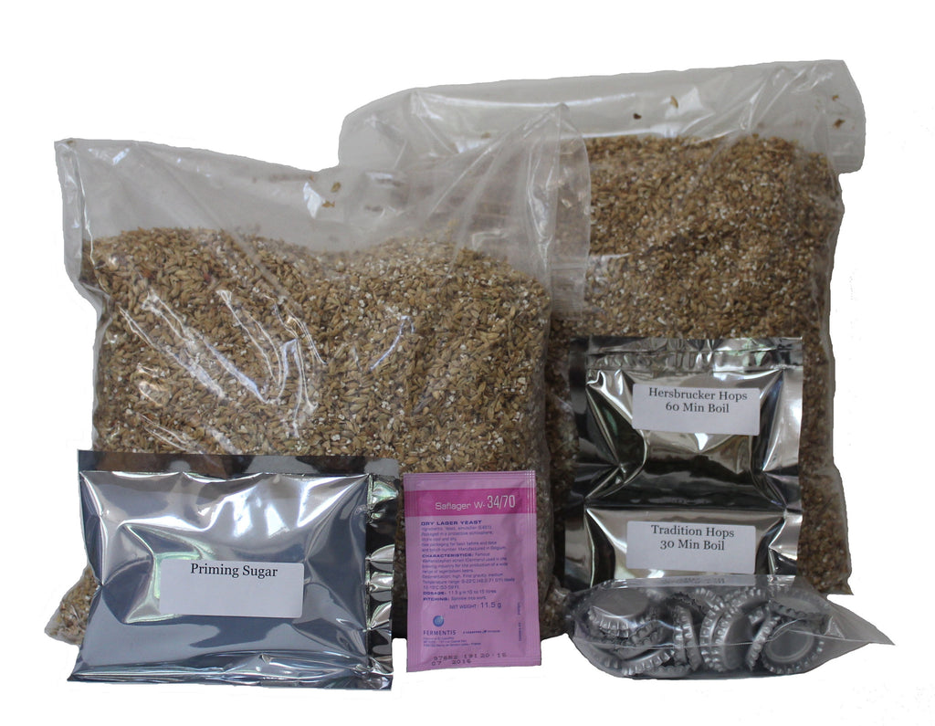Brew Naturally Oktoberfest All Grain Homebrew Beer Ingredient Kit