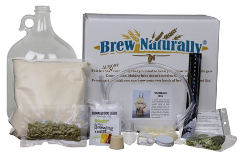 Brew Naturally Shellback IPA One Gallon Homebrew Starter Kit