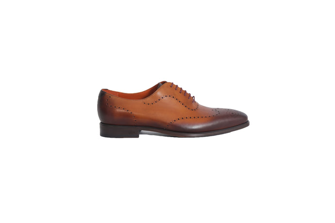 Masterpiece - Cognac Burnished Wholecut