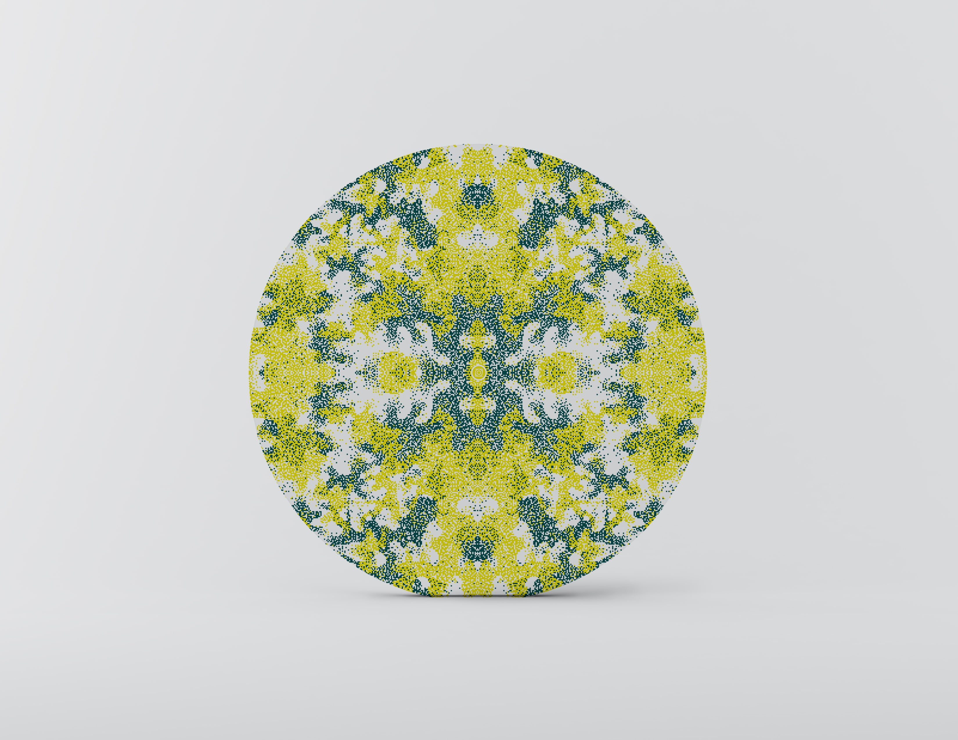 Algae Charger Plate - Set of 4