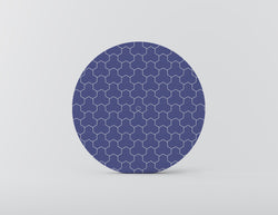 Ridley Turtle Blue Mozaiko Charger Plates. Set of 4