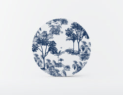 Utopia Blue Mozaiko Charger Plates. Set of 4