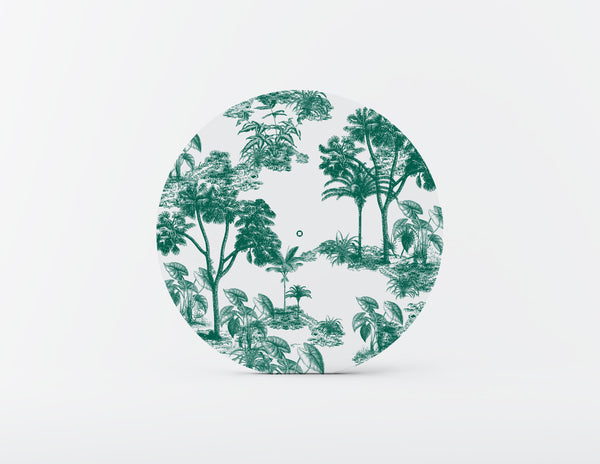 Utopia Emerald Mozaiko Charger Plates. Set of 4