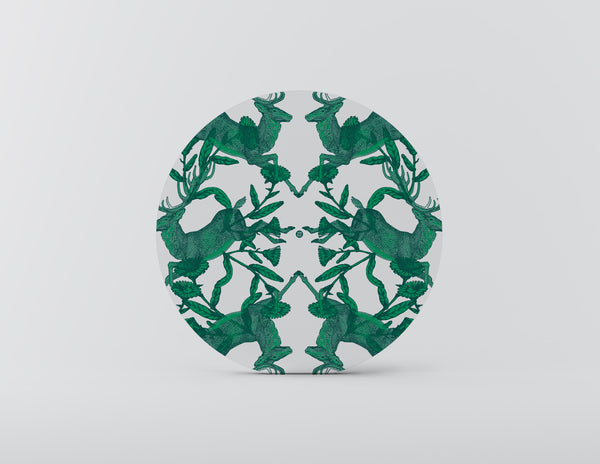 Winter Wonderland Green Charger Plate - Set of 4