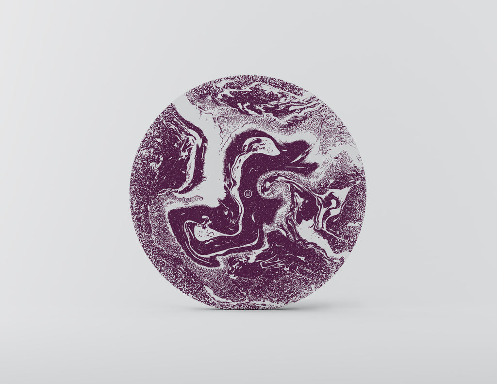 Moonwalk Purple Charger Plate - Set of 4