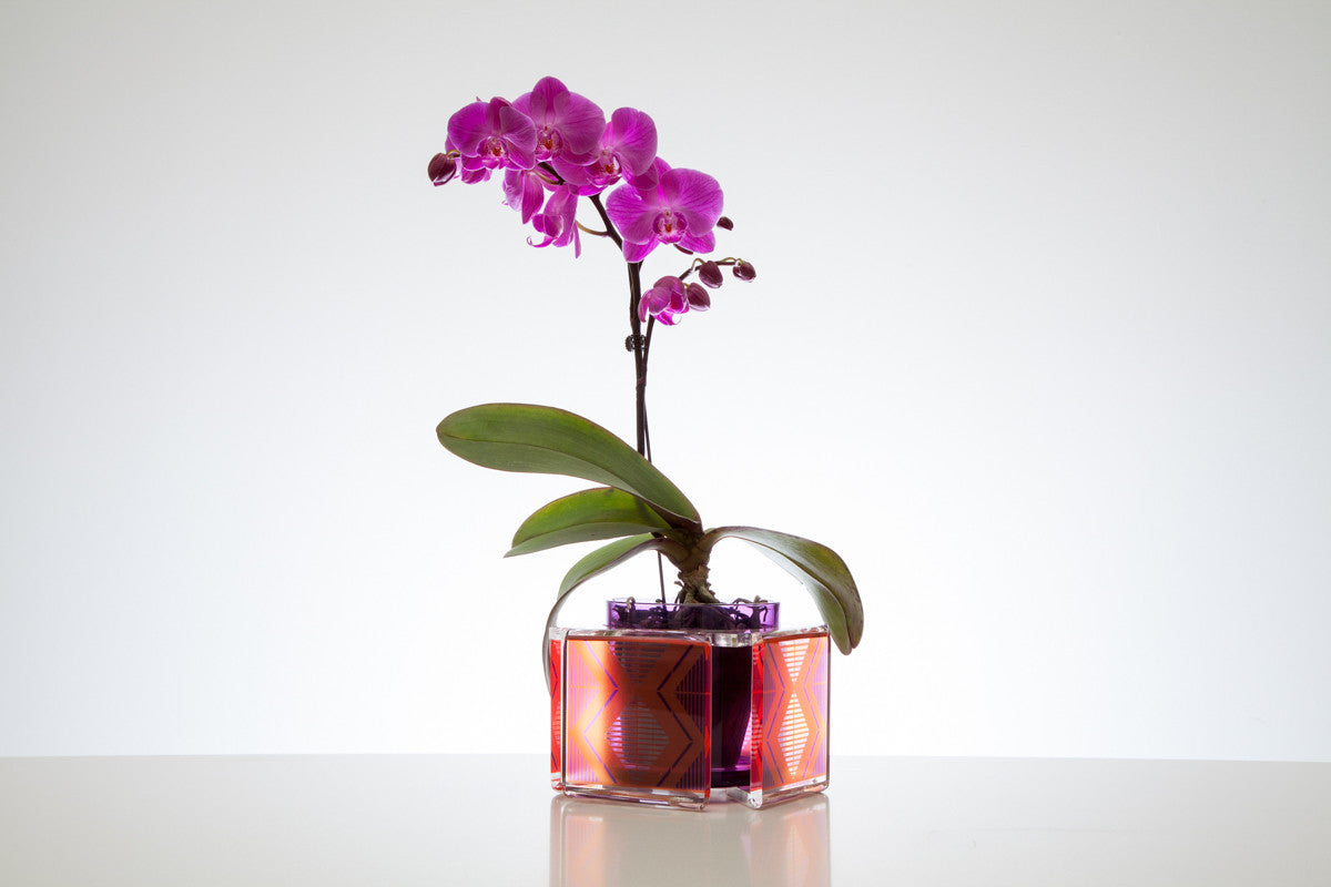 Caribe Purple Vase
