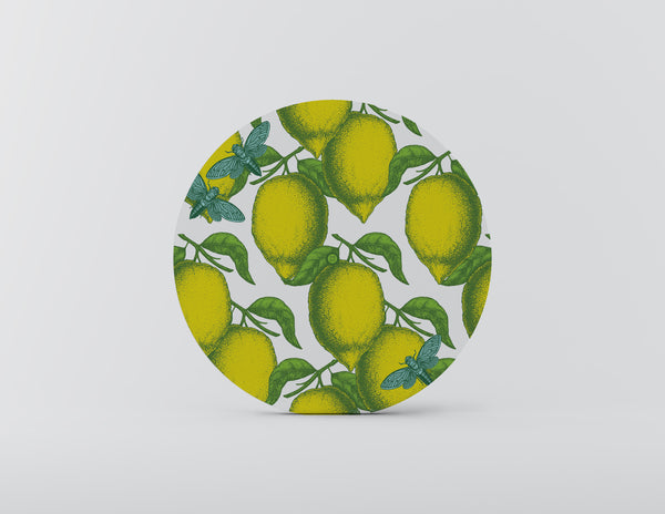 Citrus Mozaiko Charger Plates. Set of 4