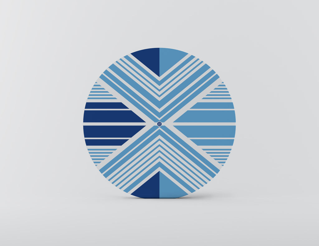 Juana Blue Charger Plate Set