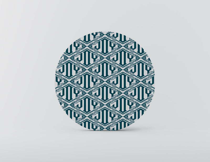Joy Trellis Mozaiko Charger Plates. Set of 4